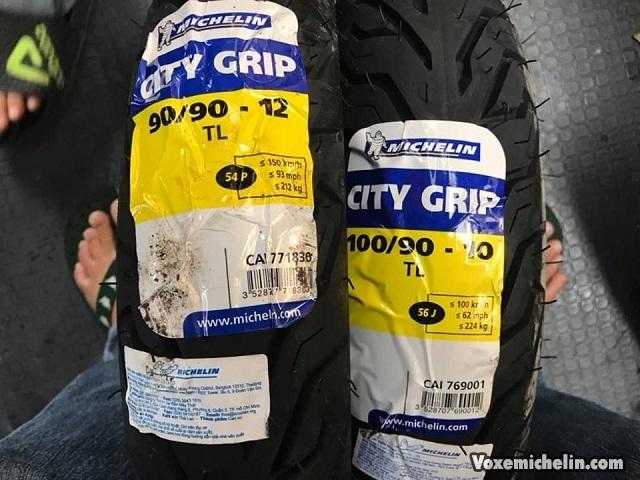 Vỏ michelin city grip 9090-12 lead 125 - 1