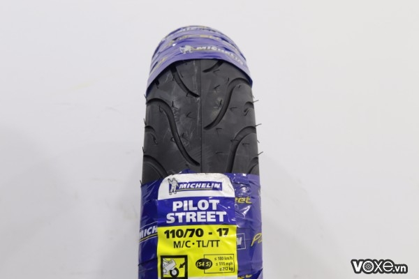 Vỏ michelin pilot street 11070-17 exciter winner - 1