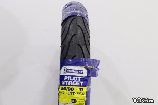 Vỏ michelin pilot street 8090-17 su xipo dream - 1