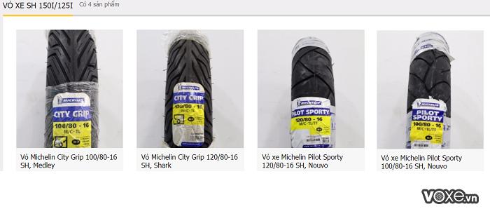 Những loại vỏ xe michelin dành cho xe ga cao cấp sh 150i125i tốt nhất hiện nay - 3