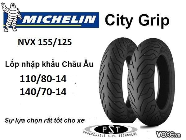 Michelin  thương hiệu vỏ xe chất lượng cho yamaha nvx tại việt nam - 2