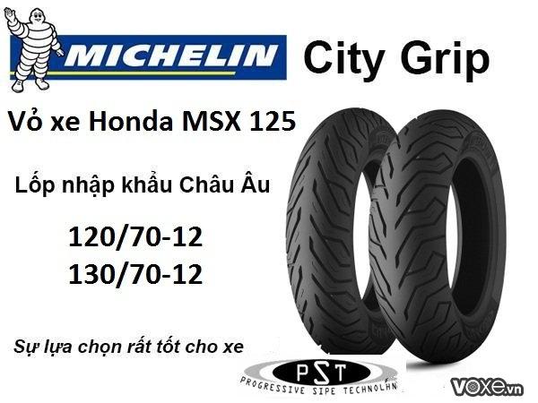 Vỏ xe cho msx 125 với thương hiệu michelin nổi tiếng toàn cầu - 2
