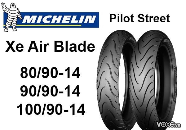 Vỏ xe michelin cho air blade có những loại nào tốt nhất hiện nay - 2