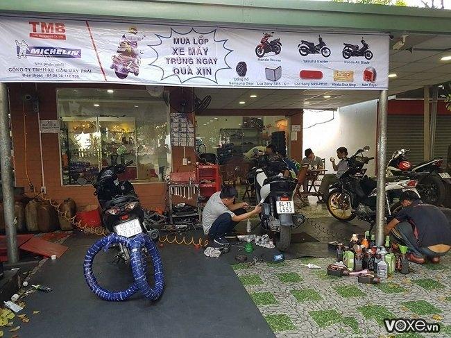 Những nơi vá vỏ không ruột xe máy xe tay ga ở đâu uy tín tại tphcm - 1
