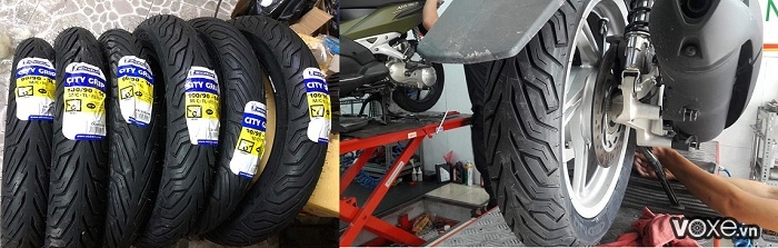 Xe máy nên thay vỏ xe loại nào cho mùa mưa - 4