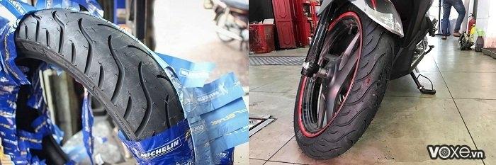 Xe máy nên thay vỏ xe loại nào cho mùa mưa - 3