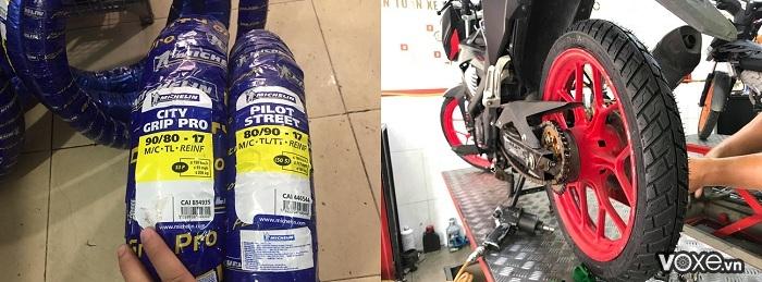 Xe máy nên thay vỏ xe loại nào cho mùa mưa - 5