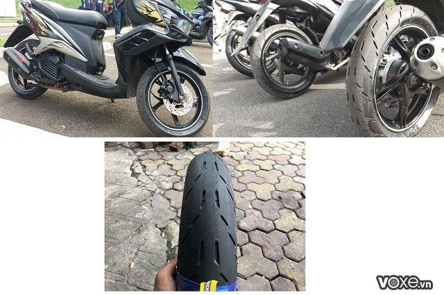 Đánh giá vỏ xe michelin pilot moto gp  công nghệ vỏ đến từ đường đua - 4