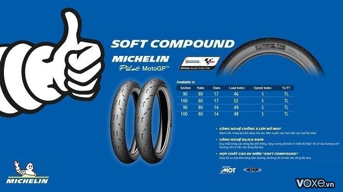 Đánh giá vỏ xe michelin pilot moto gp  công nghệ vỏ đến từ đường đua - 3