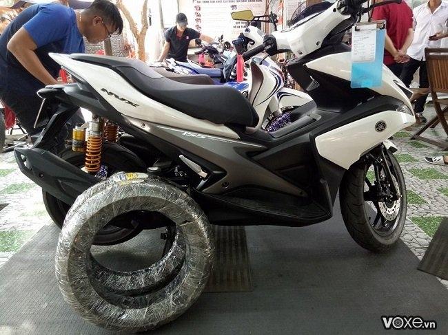 Yamaha nvx thay vỏ michelin 150 có được không  giá bao nhiêu - 1