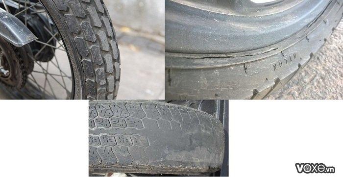 Cần lưu ý gì khi thay vỏ không ruột cho xe máy vỏ michelin giá bao nhiêu - 3
