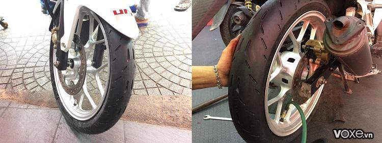Đánh giá vỏ xe michelin pilot moto gp  công nghệ vỏ đến từ đường đua - 5