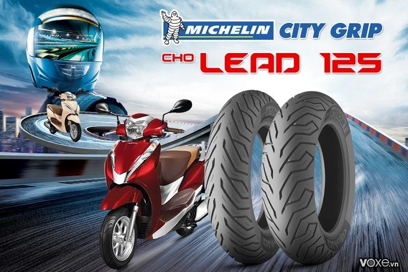 Vỏ michelin city grip cho lead có tốt không vỏ lead 2021 giá nhiêu - 1
