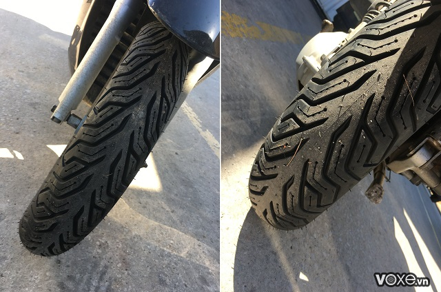 Vỏ michelin city grip 2 12080-16 - 2