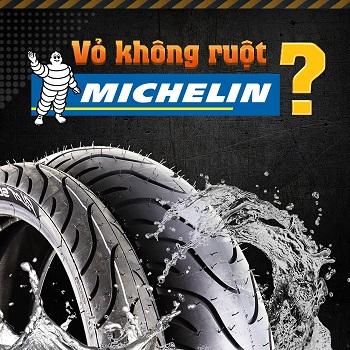 Vỏ không ruột Michelin có thật sự tốt hơn vỏ xe đặc ruột hay không?