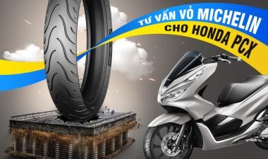 Honda PCX thay vỏ Michelin loại nào tốt? Vỏ xe PCX 2020 giá nhiêu?