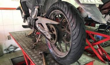 Thay vỏ 140 Michelin cho mâm sau xe Winner 150 có sử dụng được hay không?