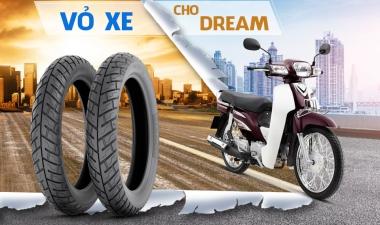 Thay vỏ không ruột xe Dream xài vỏ Michelin được không - Giá bao nhiêu?