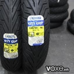 Vỏ Michelin City Grip 110/70-16 và 130/70-16 SH 300i