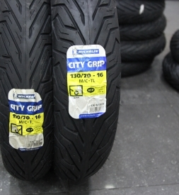 Vỏ Michelin City Grip 110/70-16 và 130/70-16 SH 300i