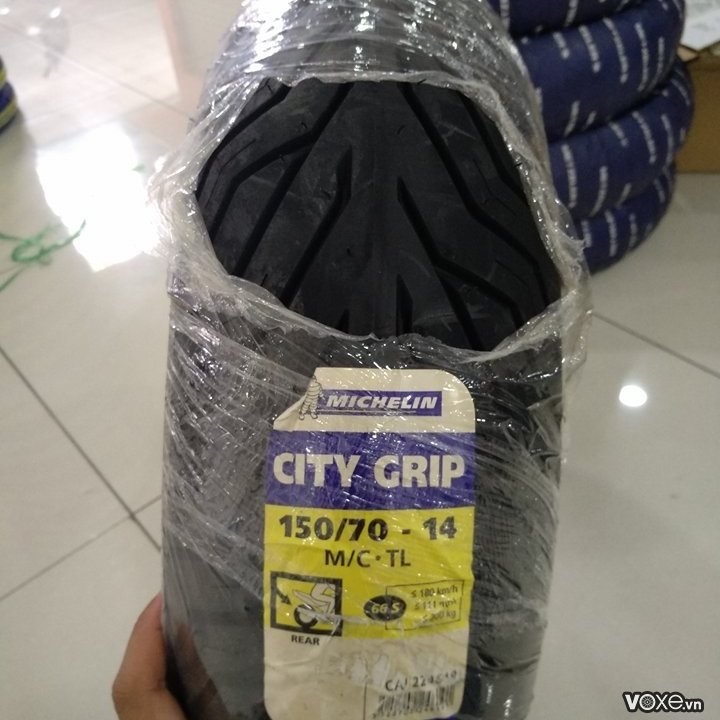 Vỏ Michelin City Grip 150/70-14 NVX 155/125