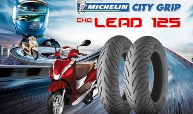 Vỏ Michelin City Grip cho Lead có tốt không, vỏ Lead 2020 giá nhiêu?