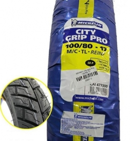 Vỏ Michelin City Grip Pro 100/80-17 Exciter, Winner