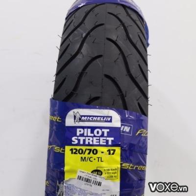 Vỏ Michelin Pilot Street 120/70-17 Winner, Exciter