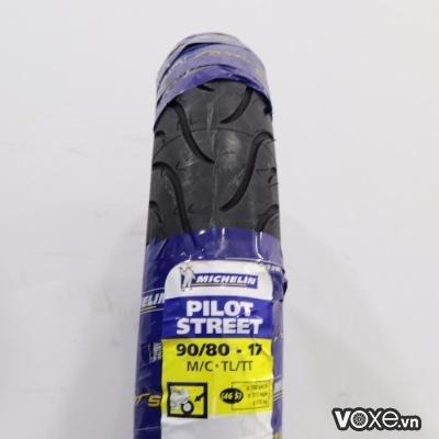 Vỏ Michelin Pilot Street 90/80-17 Winner, Fz