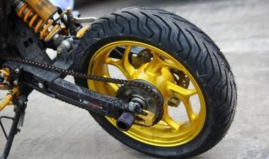 Vỏ xe cho MSX 125 với thương hiệu Michelin nổi tiếng toàn cầu