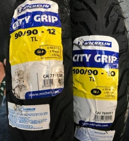 Vỏ xe Michelin City Grip 100/90-10
