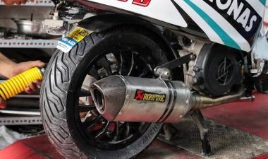 Vỏ xe Michelin gắn cho xe Vespa sử dụng size vỏ nào là phù hợp?