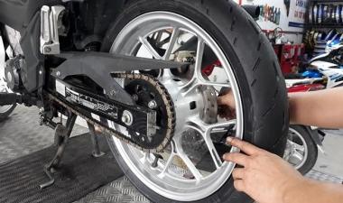 Winner 150 thay vỏ 100 Michelin Moto GP có tốt không? Giá bao nhiêu?
