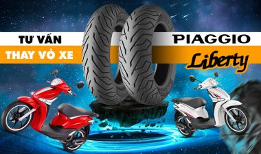 Thay vỏ xe Michelin cho Liberty có được không, giá bao nhiêu?