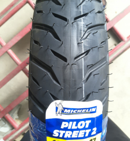 Vỏ Michelin Pilot Street 2 100/80-17 Exciter, Winner