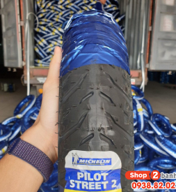 Vỏ Michelin Pilot Street 2 90/80-17 Wave, Dream