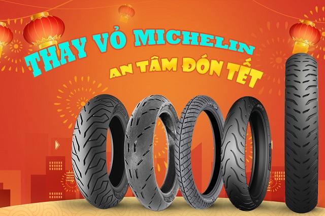 Bảo dưỡng thay vỏ Michelin cho xe máy dịp cuối năm, những lưu ý phải biết ?