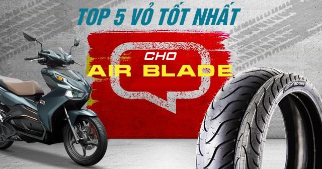 Top 4 vỏ xe Michelin tốt nhất cho Air Blade 150 hiện nay ?