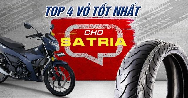 Top 4 vỏ xe Michelin tốt nhất cho Satria F150 hiện nay ?