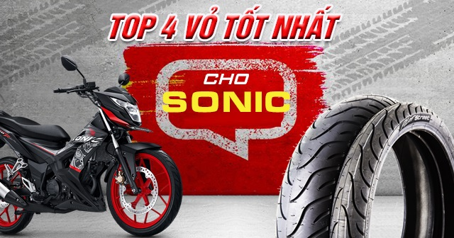 Top 4 vỏ xe Michelin tốt nhất cho Sonic 150R hiện nay ?