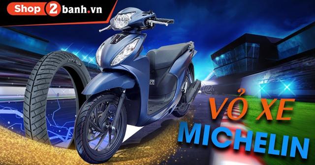 Tư vấn thay vỏ xe Vision 2021 loại nào tốt? Giá vỏ Michelin cho Vision bao nhiêu?